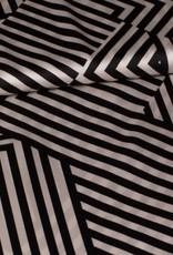 Fibre Mood Polyester Indira stripes zwart wit