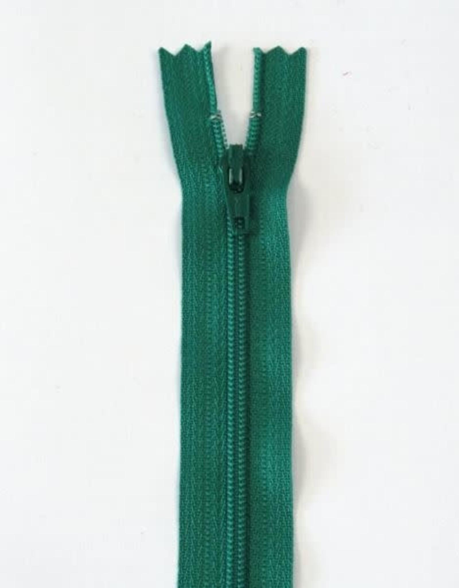 YKK Spiraalrits niet-DB 3mm grasgroen 540-22cm