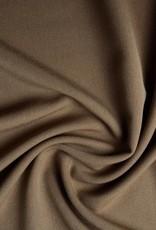 *Gabardine stretch licht bruin