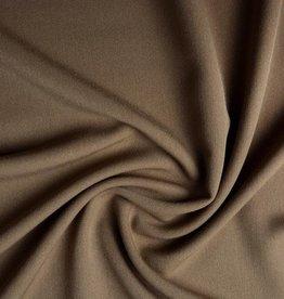Gabardine stretch licht bruin