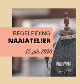 Workshop BEGELEID NAAIATELIER 15/07/20