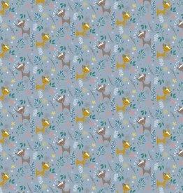 Poppy Katoen oh deer glitter munt