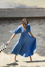 Fibre Mood Polyester elastan AGATHA cobalt blauw
