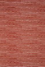 Qjutie Katoen stripes stone