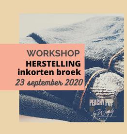 Workshop Herstelling: inkorten broek  23/09/2020