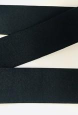 GEWEVEN ELASTIEK zacht 40mm zwart