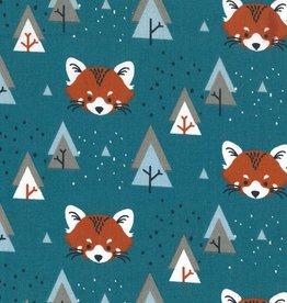 Domotex *Katoen padwan fox petrol