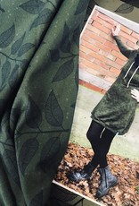 Swafing French Terry Sweat hedda leaves groen
