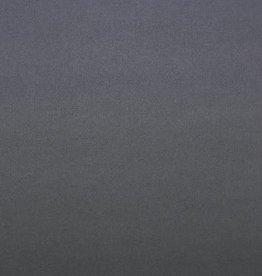 *Mantel velour wol mix grijsblauw