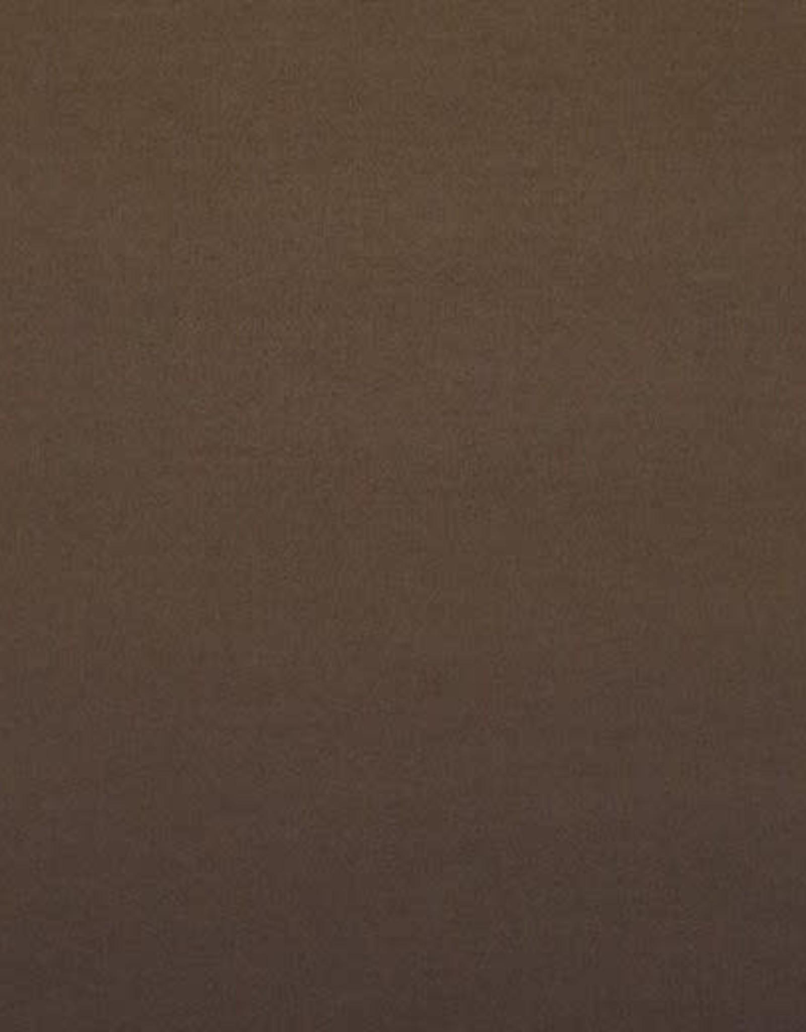 *Mantel velour wol mix bruin