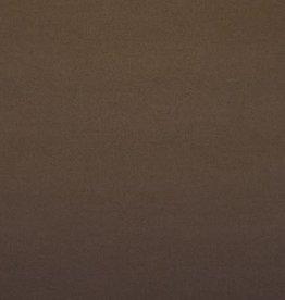 Mantel velour wol mix bruin
