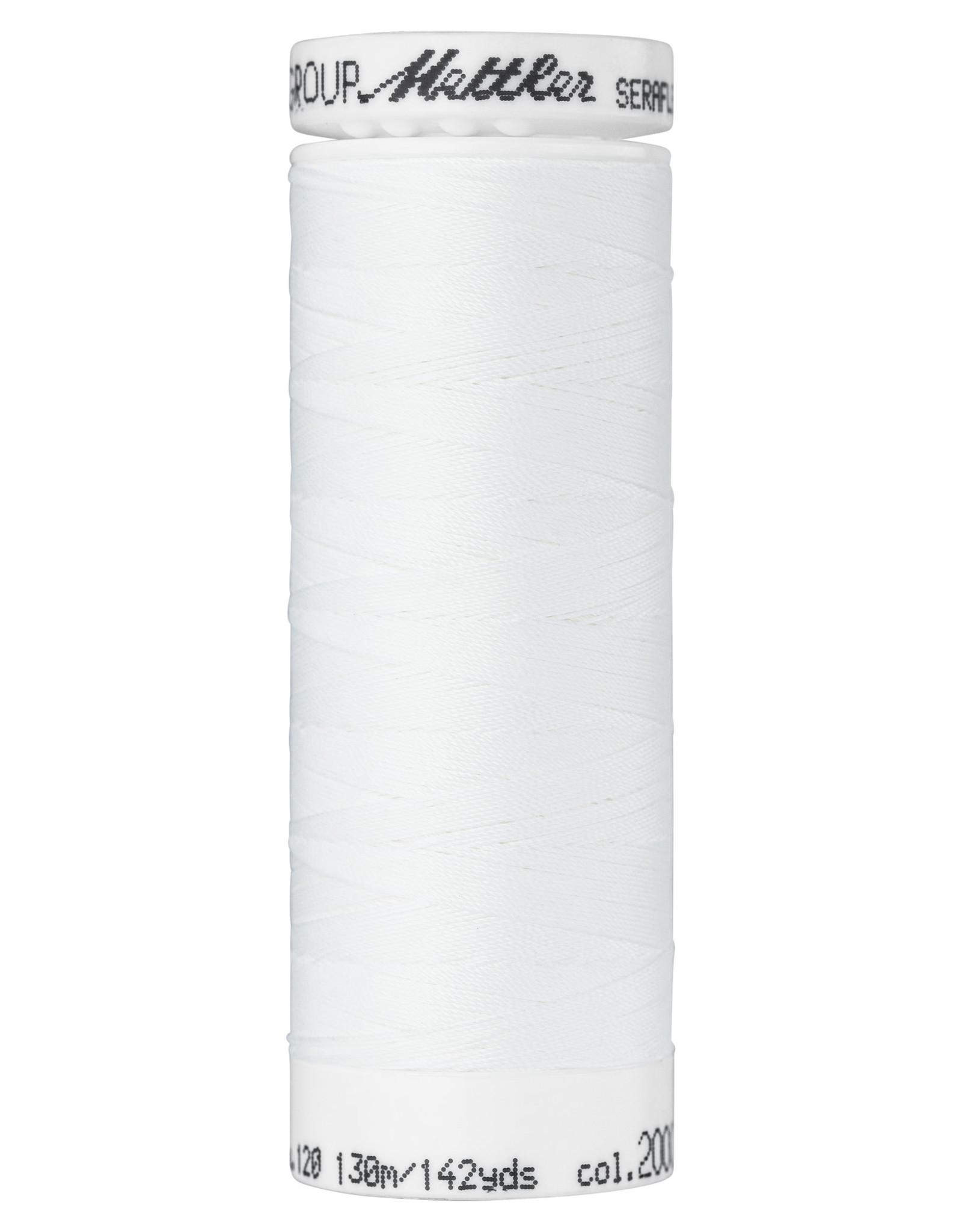Mettler SERAFLEX elastisch naaigaren 120 130m/142yds nr 2000