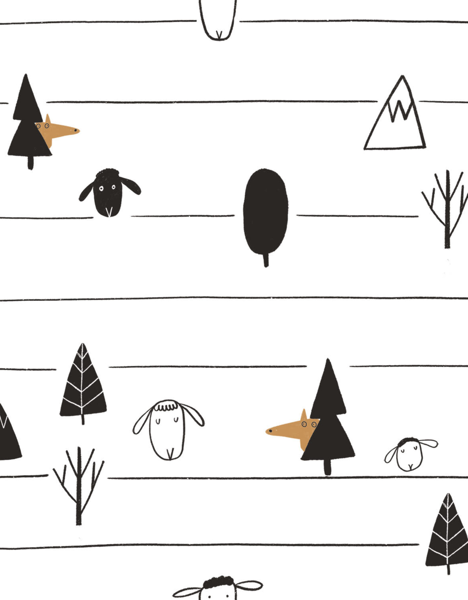 Katia *Tricot The black sheeps stripes