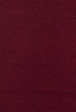 Viscose dots bordeaux