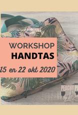 """Workshop """"handtas"""" do 15 en 22/10/2020"""
