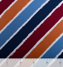 Swafing *French Terry Sweat Diagonally by lycklig design kleur