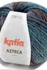 Katia Garen azteca 7872 bruin-blauw