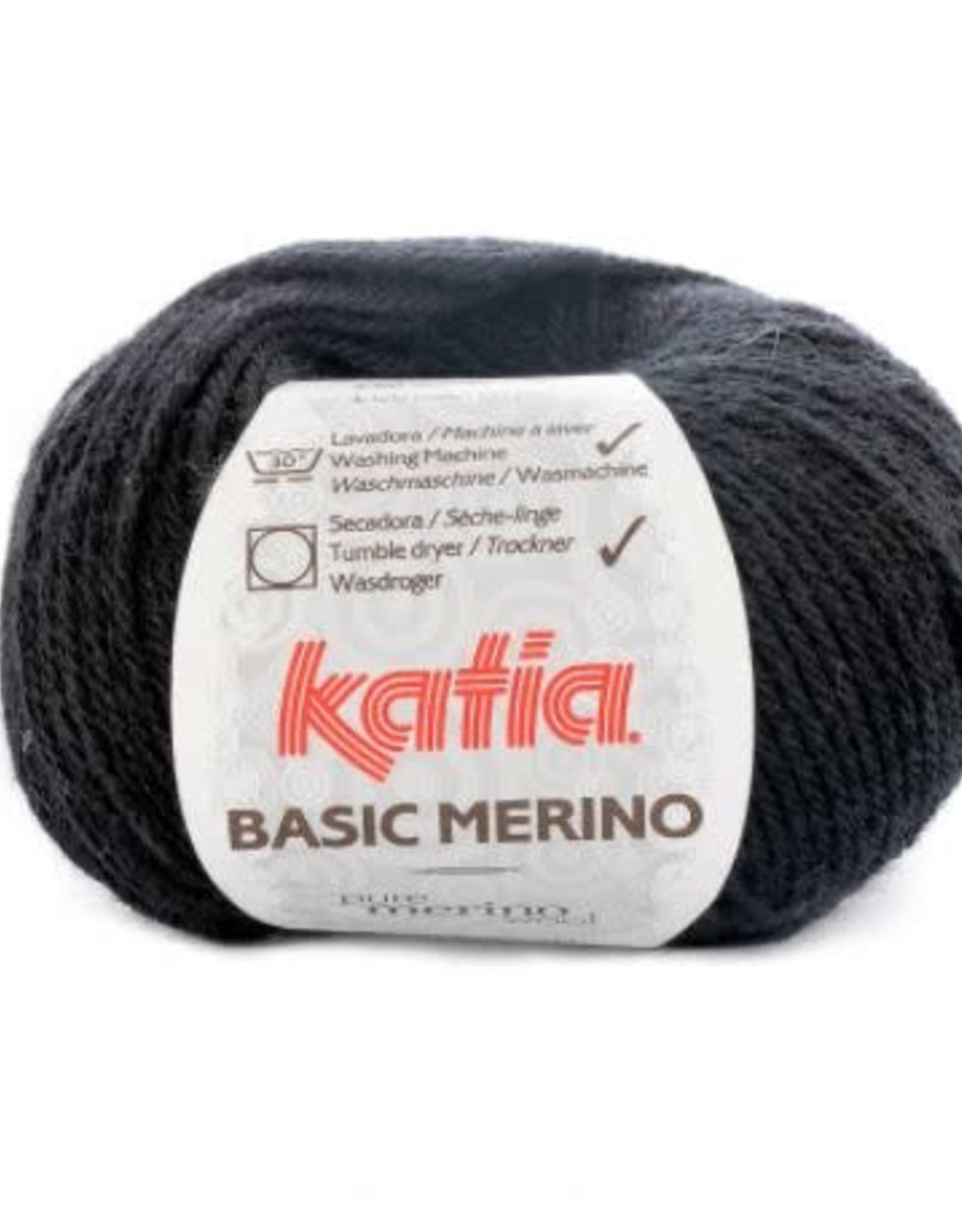 Katia Garen Basic Merino 2 zwart