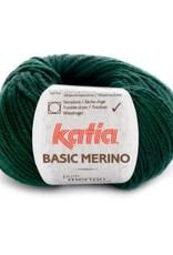 Katia Garen Basic Merino 15 donker groen
