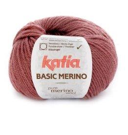 Katia Garen Basic Merino 74 donker oud roze