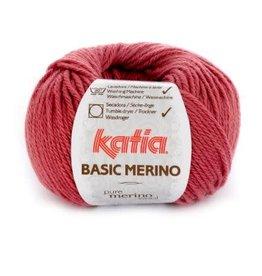 Katia Garen Basic Merino 75 framboosrood
