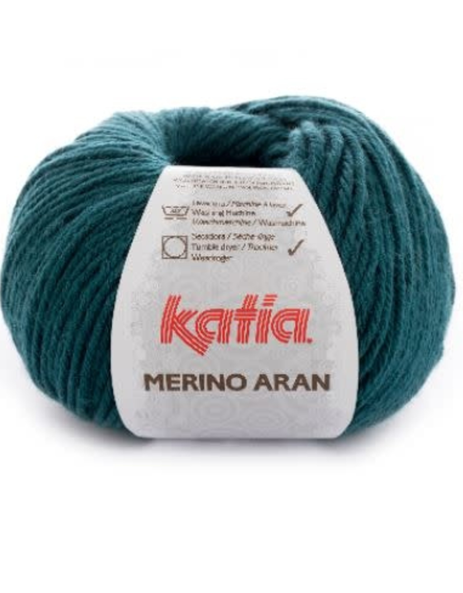 Katia Garen Merino Aran 44  flessen groen