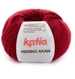 Katia Garen Merino Aran 51 wijn rood