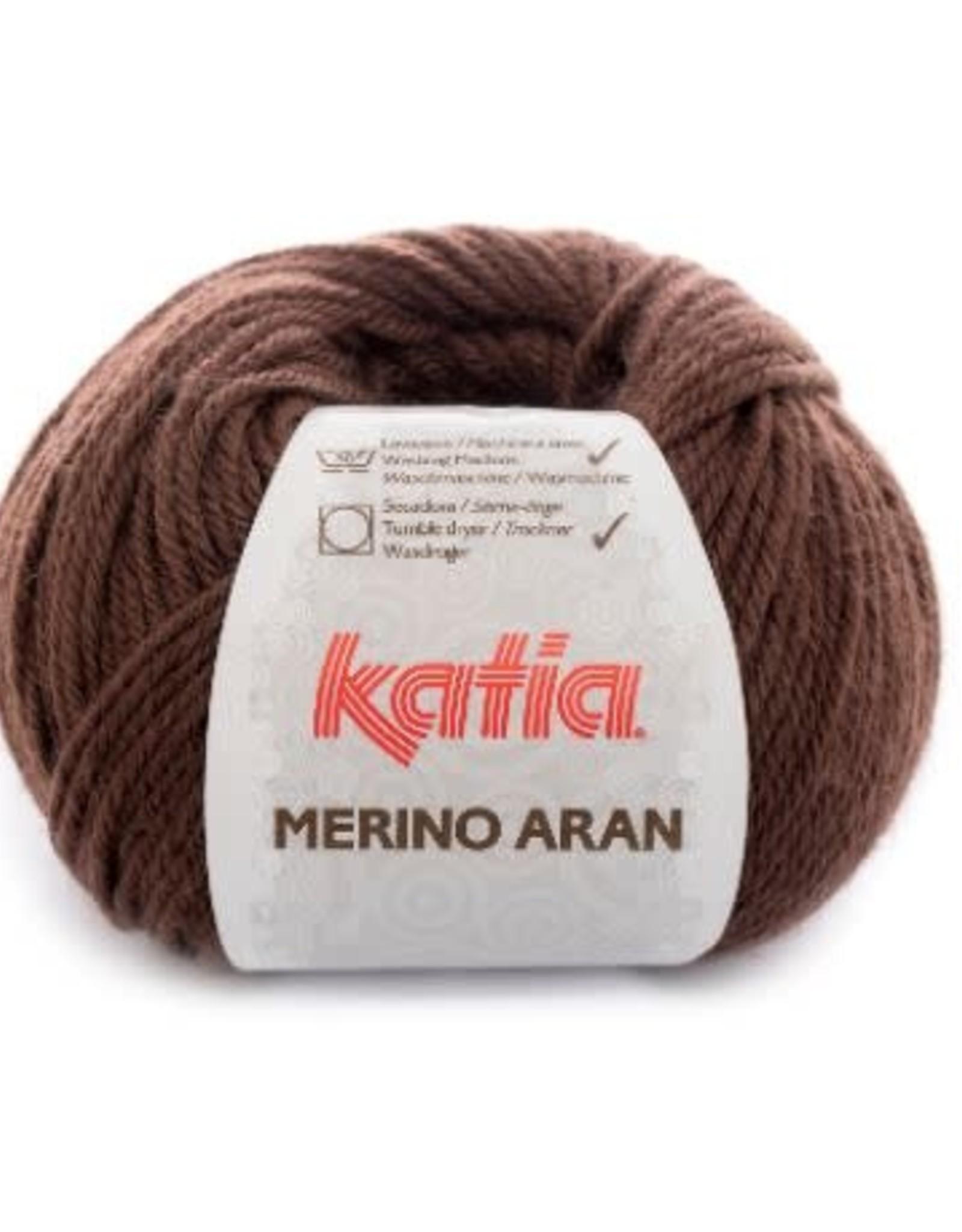 Katia Garen Merino Aran 46 donker bruin