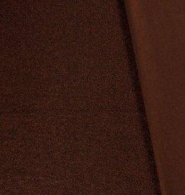 Mantel bouclé zacht roestbruin