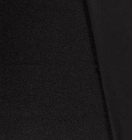 Mantel bouclé zacht zwart