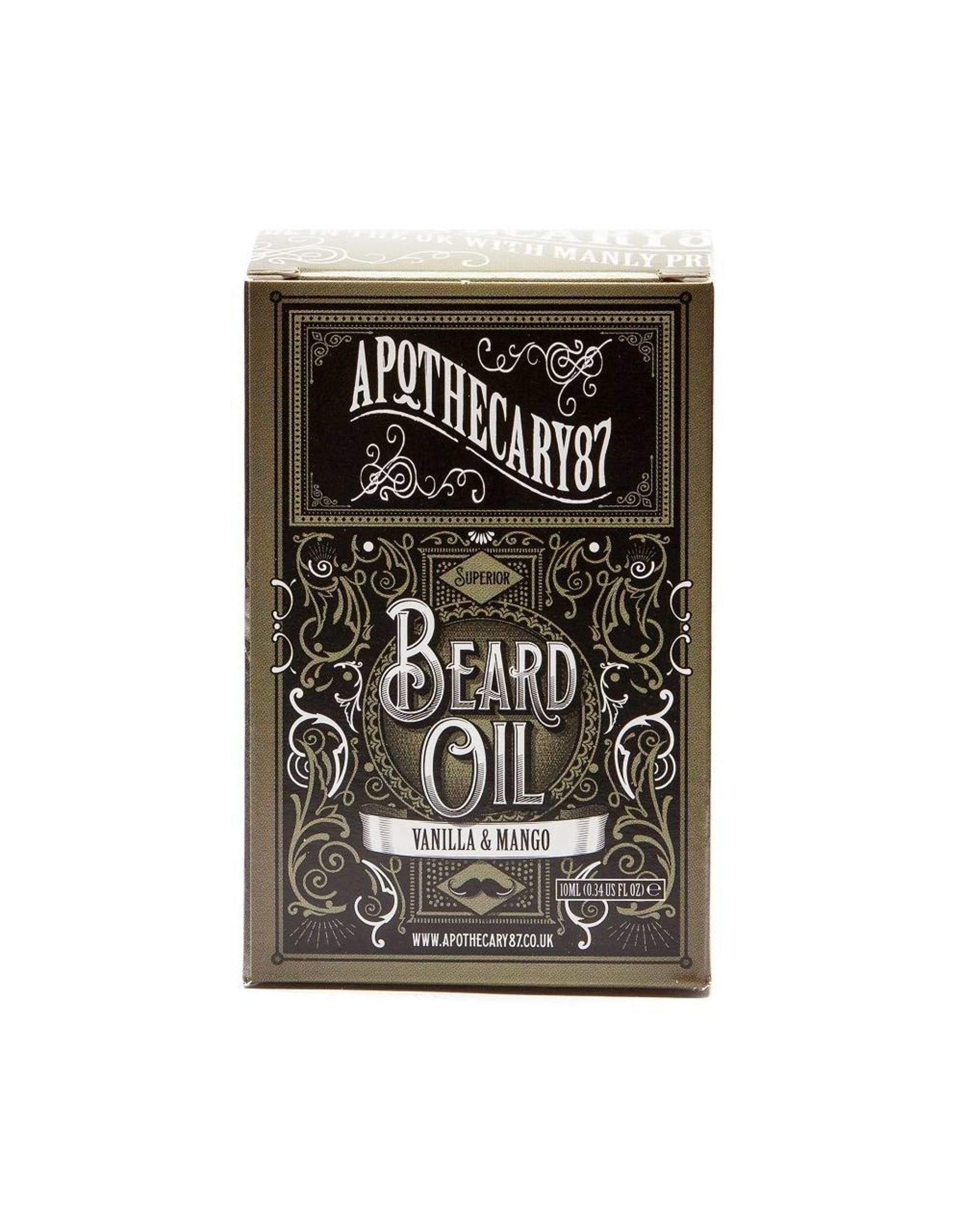 Apothecary 87 Apothecary 87 Vanilla & mango beard oil
