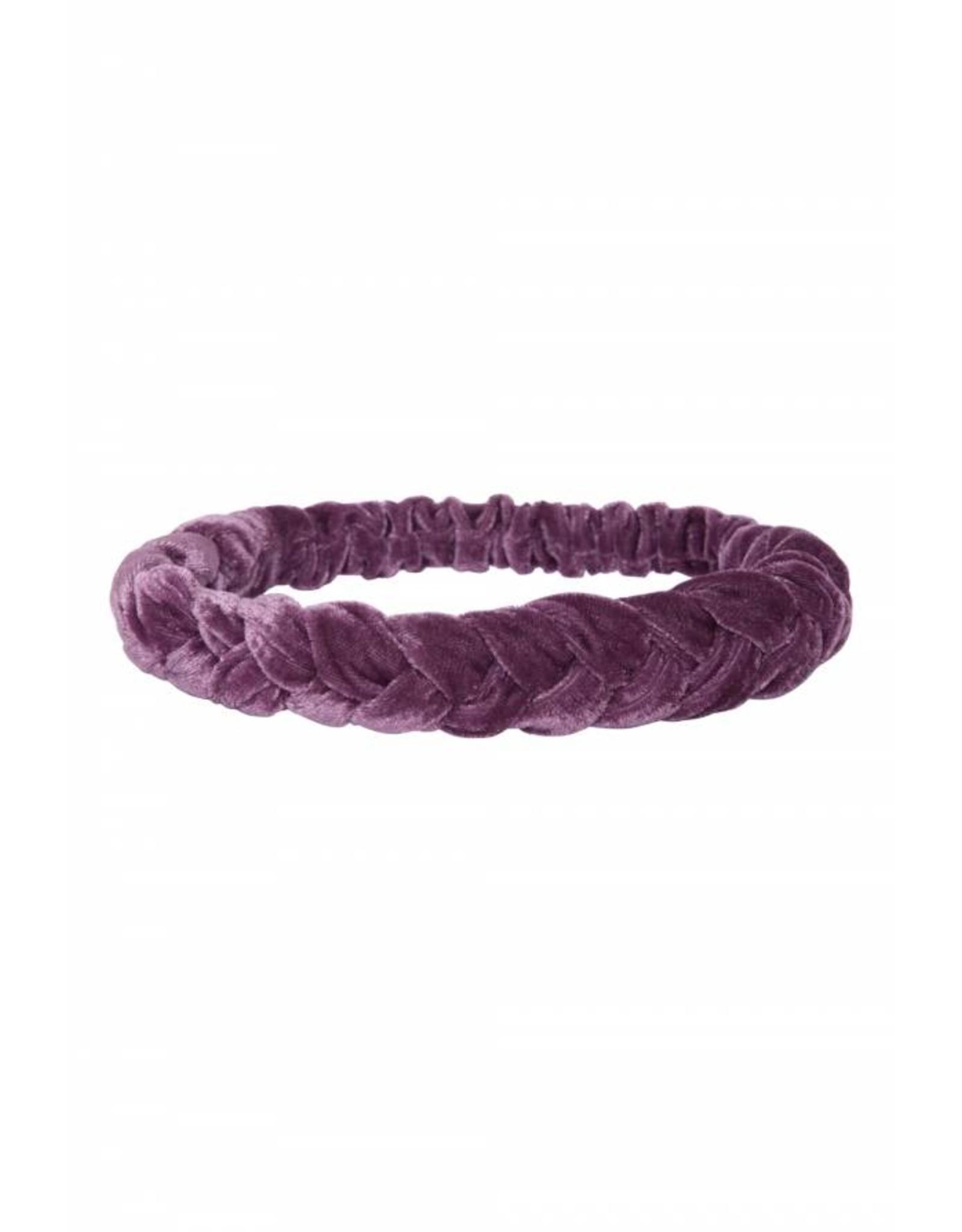 24 Colours 24 Colours Hairband Purple Velvet