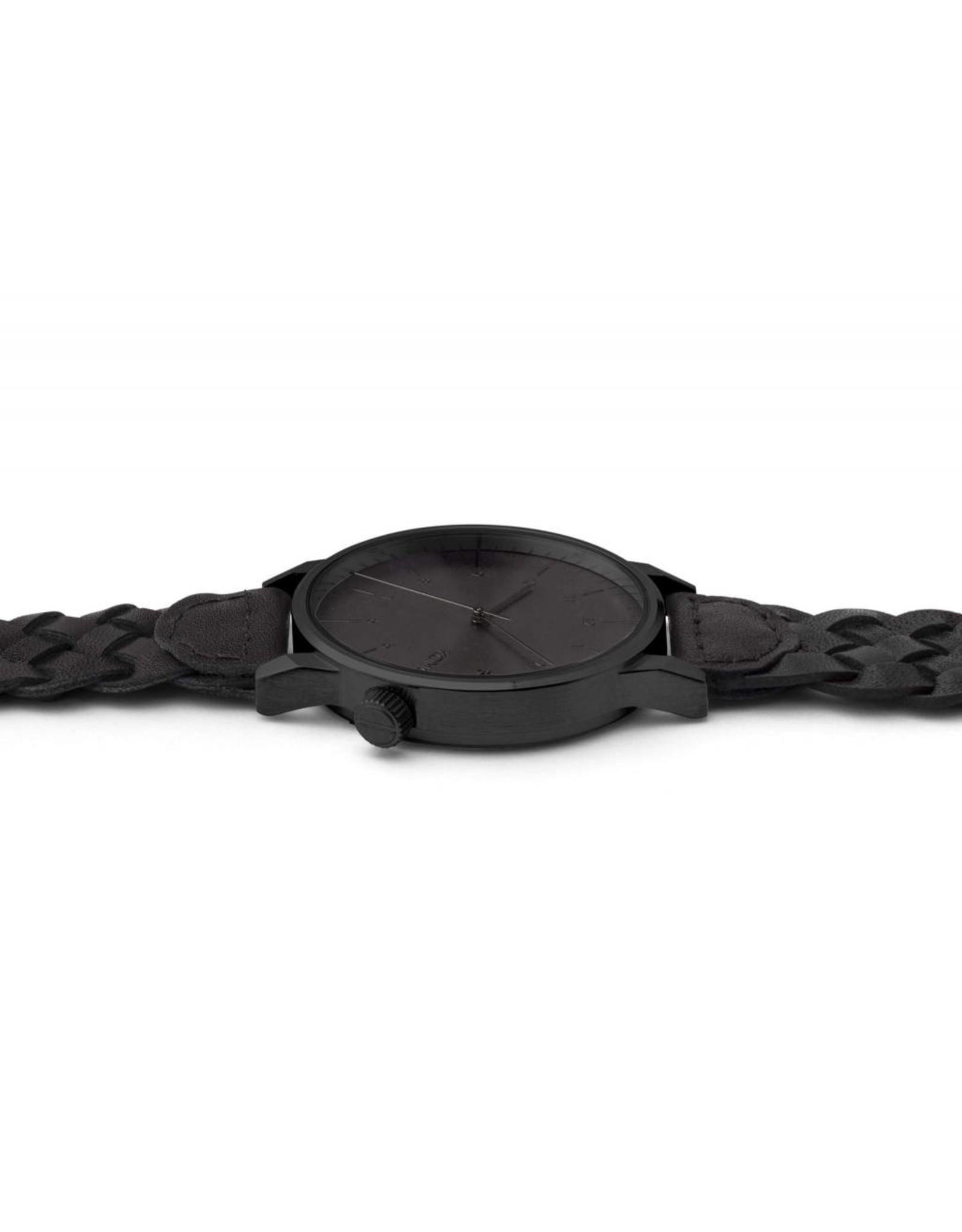 Komono Komono Winston Woven-All Black