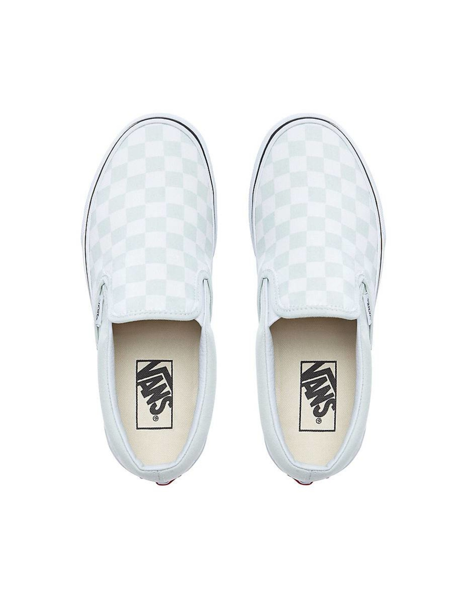 Vans Vans Classic Slip-On Checkerboard Blue Flower
