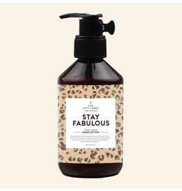 The Gift Label Hand Lotion Stay Fabulous