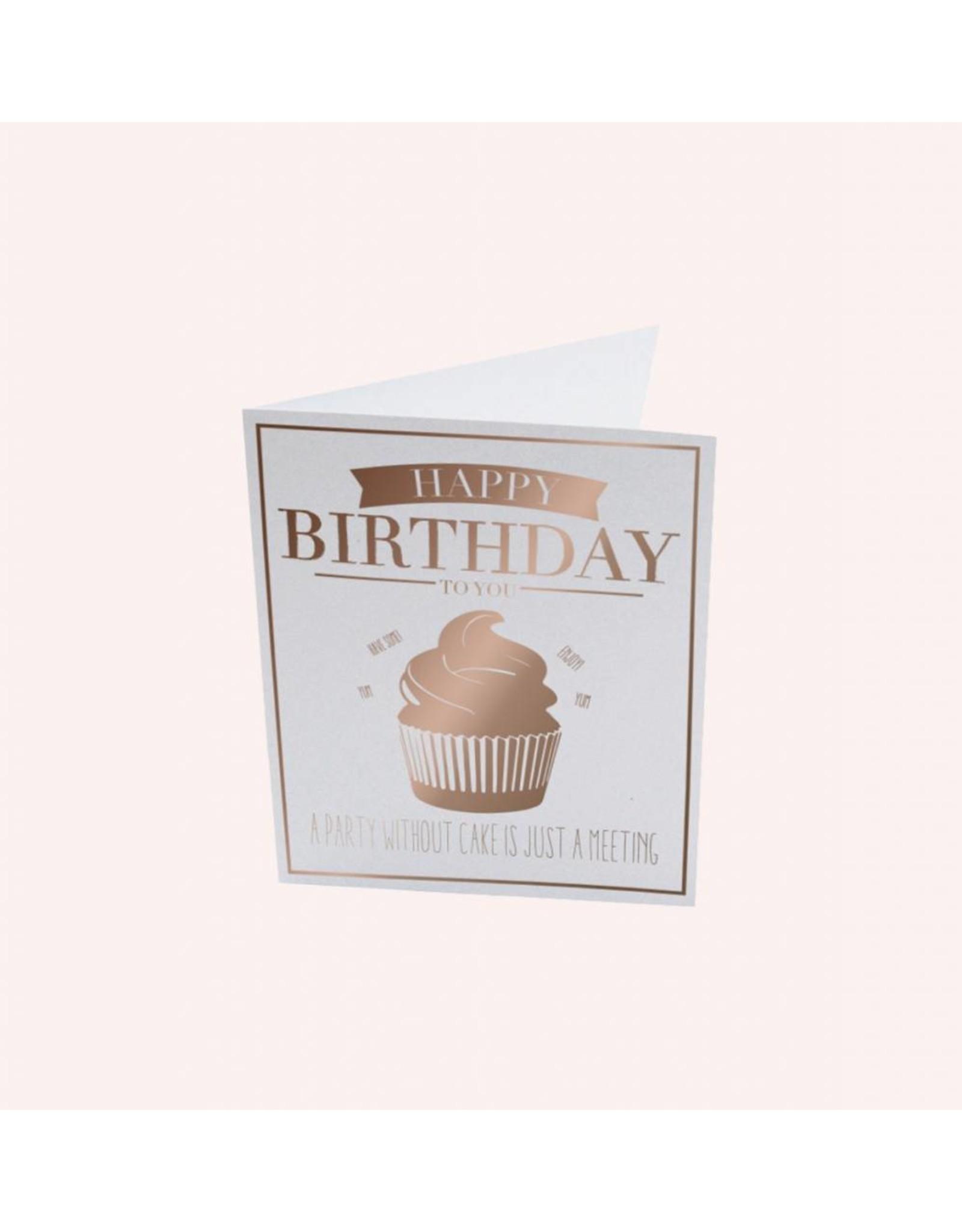The Gift Label Postcard Happy Birthday