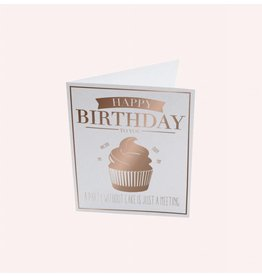 The Gift Label Postcard Happy Birthday