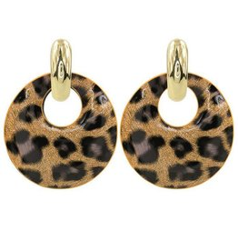 My Jewellery Leopard Hoop Earrings