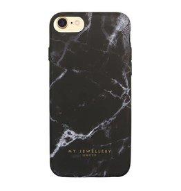 My Jewellery Black Marble Case
