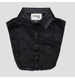 Pinned by k Pinned By K Collar Glitter Black