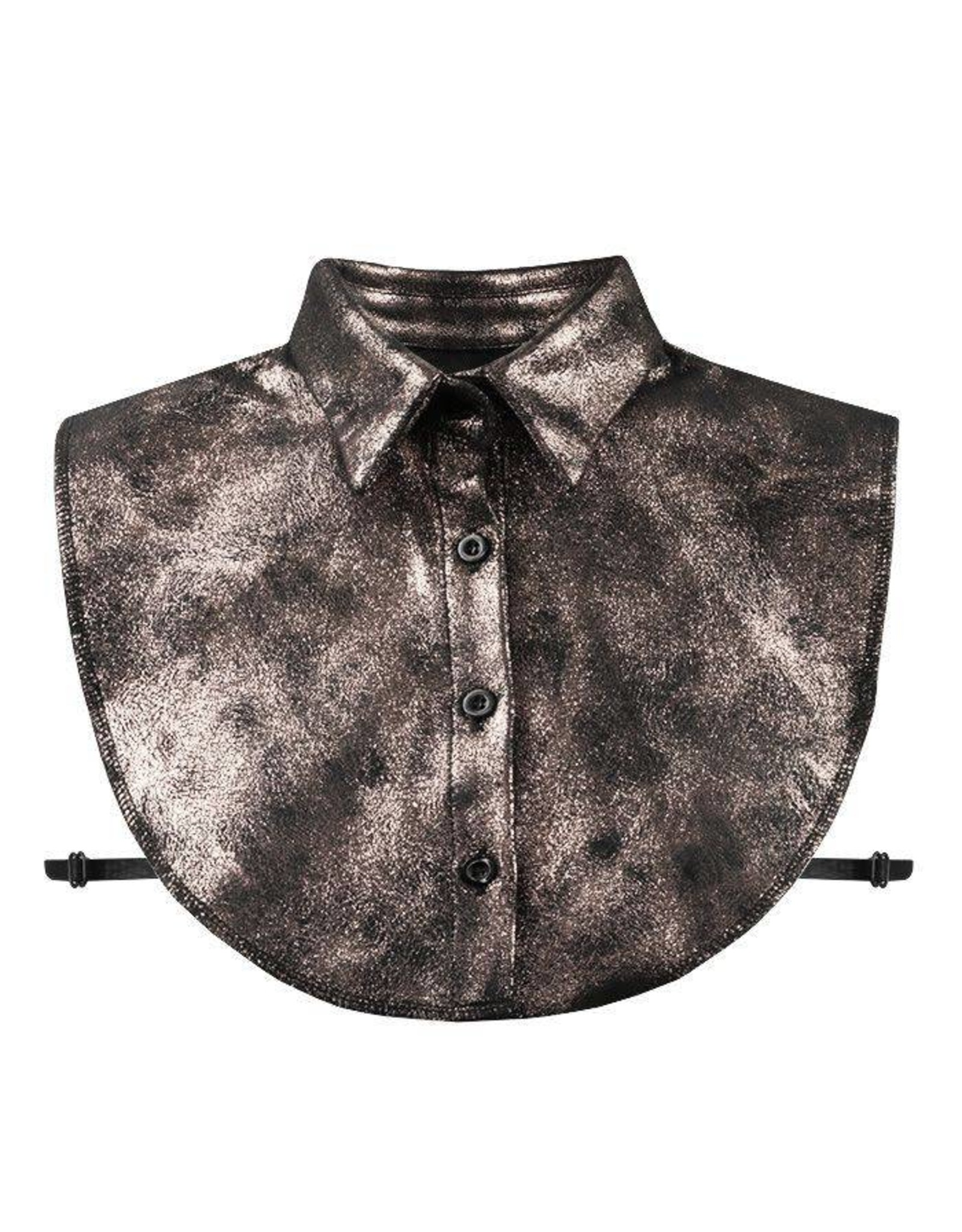 My Jewellery Black Rose Glitter Collar