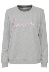 Kaffe Love Sweatshirt