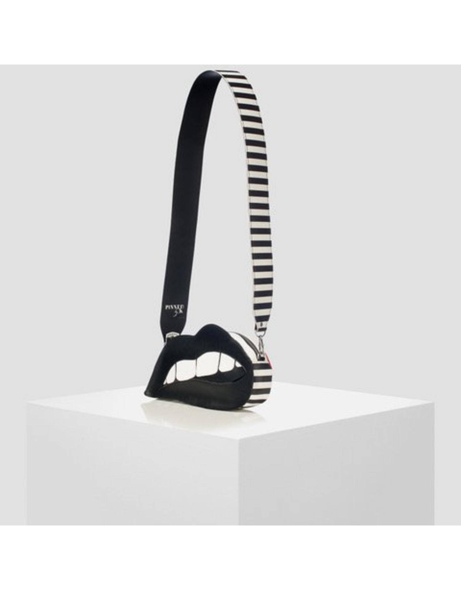 Pinned by k Stripe Handbag Strap