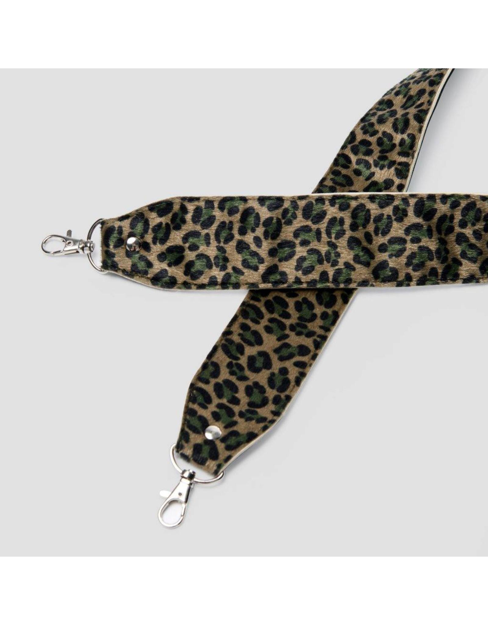 Pinned by k Strap Leopard Green
