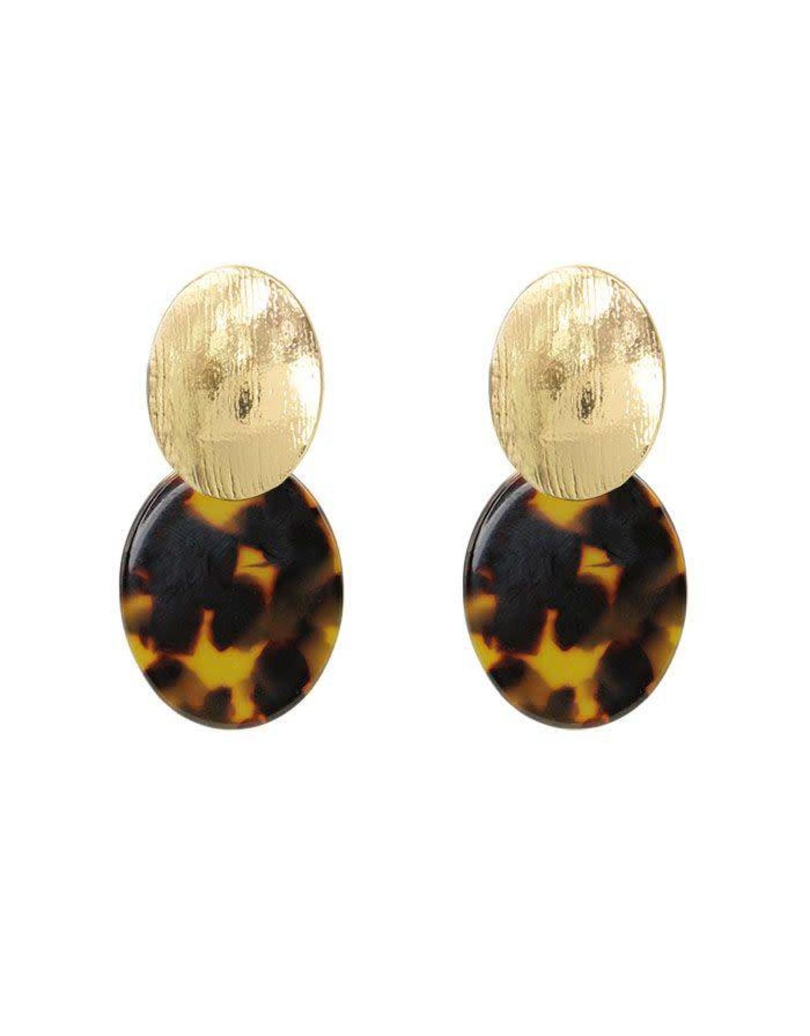 My Jewellery Brown Classy 70's Earrings