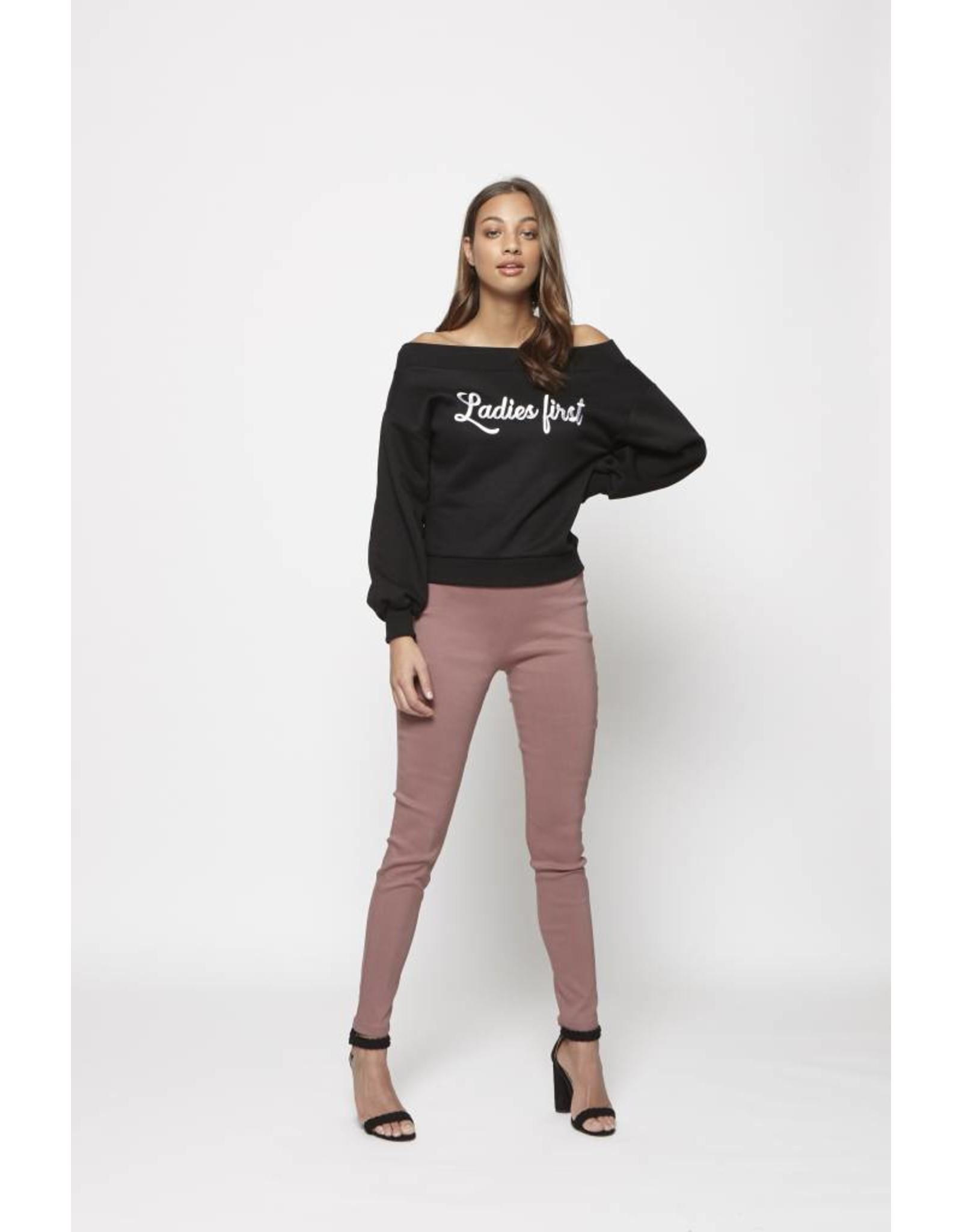 Lofty Manner Trouser Parker Pink