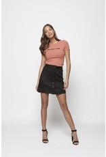 Lofty Manner Skirt Makayla Black