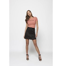 Lofty Manner Skirt Makayla Black