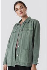 Rut & Circle Cargo Jacket Vintage Olive