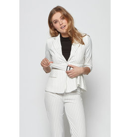 Lofty Manner Blazer Kleo White